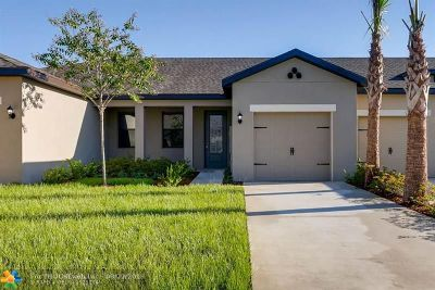 Martin County, St. Lucie County Condo/Townhouse For Sale: 1606 Merriment #433