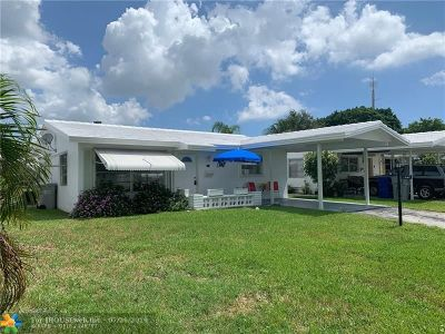 Pompano Beach Single Family Home For Sale: 161 NW 25th Ct