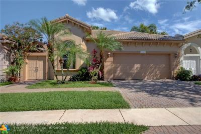 Heron Bay Single Family Home For Sale: 12442 NW 57th St