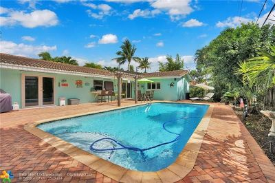 Fort Lauderdale Single Family Home For Sale: 4740 NE 27th Ave