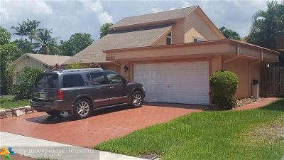 Sunrise Single Family Home For Sale: 9330 NW 36th Place