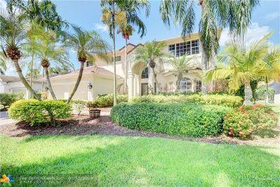 Weston Single Family Home For Sale: 2573 Jardin Ct