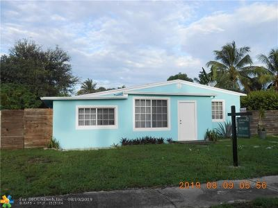 Fort Lauderdale Single Family Home For Sale: 428 SW 25th Ave