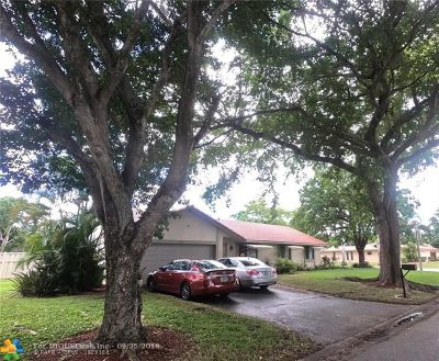 Coral Springs Single Family Home For Sale: 2290 NW 115th Dr