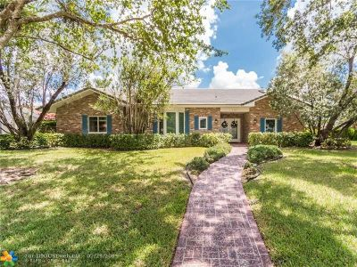 Coral Springs Single Family Home For Sale: 8725 NW 18th St