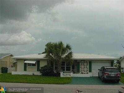 Tamarac Single Family Home For Sale: 4806 NW 49 Ct