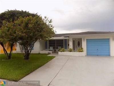 Tamarac Single Family Home For Sale: 4904 NW 58 Street