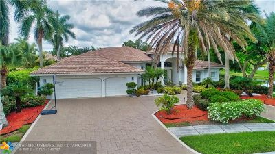 Coral Springs Single Family Home For Sale: 960 NW 119th Ave
