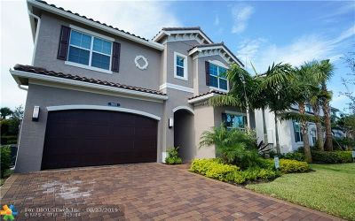Delray Beach Single Family Home For Sale: 9691 Salty Bay Dr
