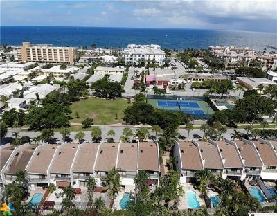Lauderdale By The Sea Condo/Townhouse For Sale: 4507 Poinciana St #4507