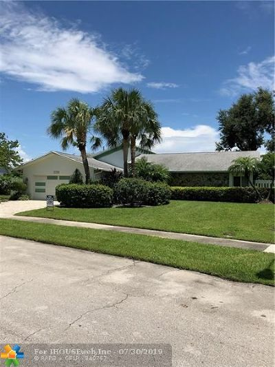 Boca Raton Single Family Home For Sale: 1399 NW 16th St