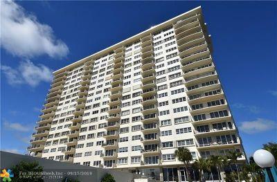 Fort Lauderdale Condo/Townhouse For Sale: 2500 E Las Olas Blvd #304
