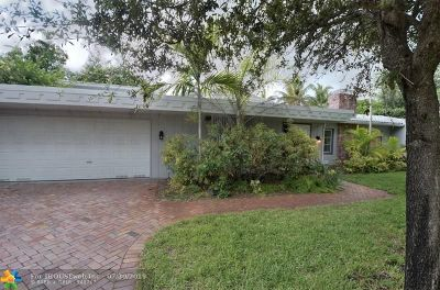 Coral Ridge, Coral Ridge 21-50 B, Coral Ridge Add, Coral Ridge Country Club Single Family Home For Sale: 2408 NE 12th Ct