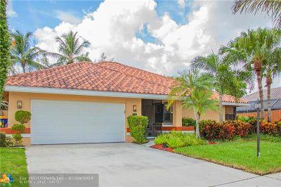 Boca Raton Single Family Home For Sale: 8654 Vista Del Boca Dr