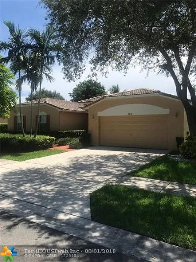 Miramar FL Single Family Home For Sale: $475,000