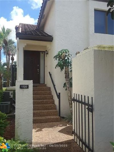 Boca Raton Condo/Townhouse For Sale: 7908 Seville Pl #1702