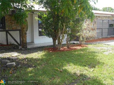 Broward County, Palm Beach County Single Family Home For Sale: 421 Pennsylvania Ave