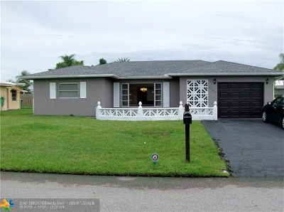 Tamarac Single Family Home For Sale: 9700 NW 67th Ct