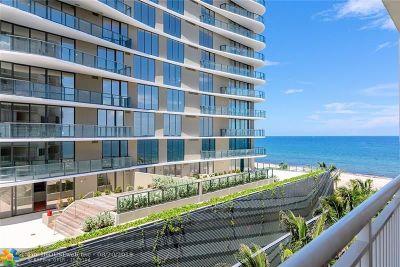 Pompano Beach Condo/Townhouse For Sale: 710 N Ocean Blvd #602