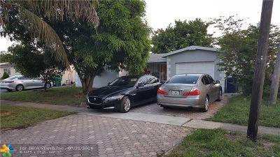 Lauderhill Single Family Home Backup Contract-Call LA: 2041 NW 48th Ter
