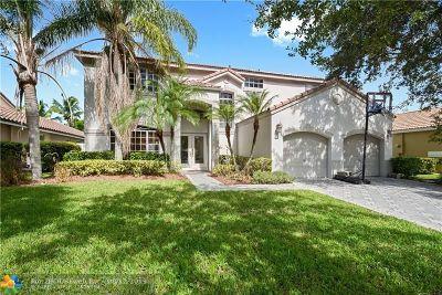 Weston Single Family Home For Sale: 773 Verona Lake Drive