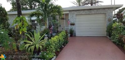 Margate Single Family Home For Sale: 1370 NW 70th Ln