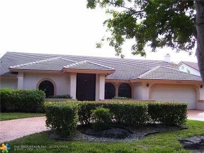 Coral Springs Single Family Home For Sale: 12188 Classic Drive