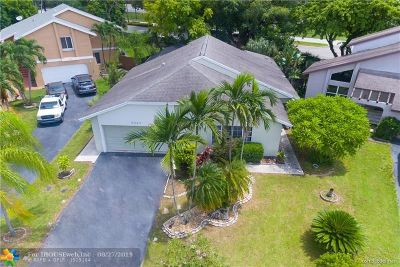 Coral Springs Single Family Home For Sale: 3537 NW 73rd Way