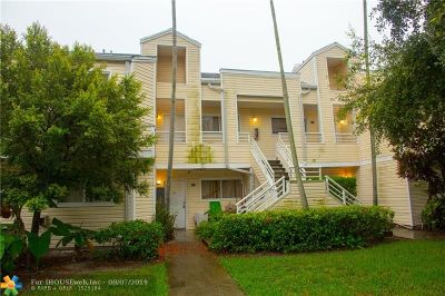 Oakland Park Condo/Townhouse For Sale: 3449 NW 44th St #107