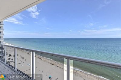 Condo/Townhouse For Sale: 3700 Galt Ocean Dr #1205