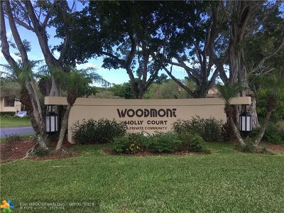 Tamarac Condo/Townhouse For Sale: 8798 Holly Ct #204