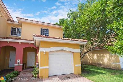 Lauderdale Lakes Condo/Townhouse For Sale: 3638 NW 29th Court