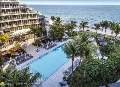 Fort Lauderdale Condo/Townhouse For Sale: 2200 N Ocean Blvd #N404