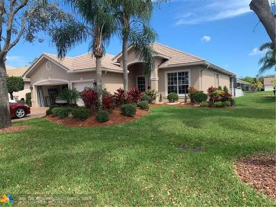 Coral Springs Single Family Home For Sale: 5844 NW 54th Cir