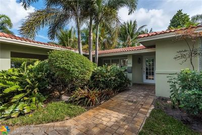 Fort Lauderdale Single Family Home For Sale: 1410 NE 16th Ave