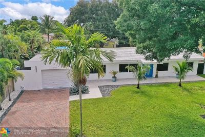 Wilton Manors Single Family Home For Sale: 2700 NE 2nd Ave