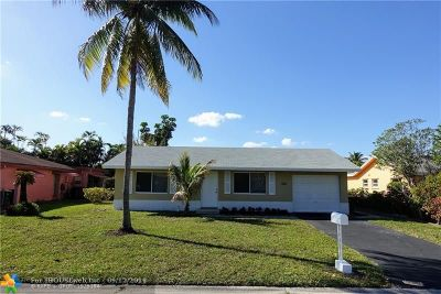 Tamarac Single Family Home For Sale: 8113 NW 91st Ave