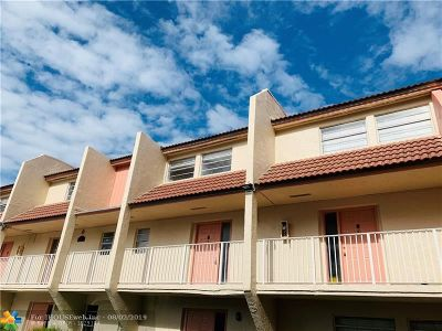 Broward County Condo/Townhouse For Sale: 3750 NW 115th Way #9-1