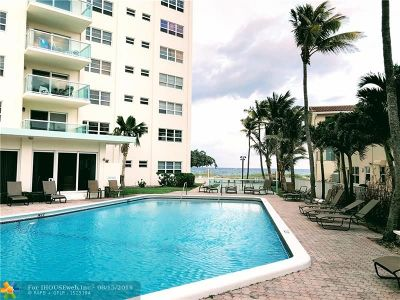 Lauderdale By The Sea Condo/Townhouse For Sale: 6000 N Ocean Blvd #3H