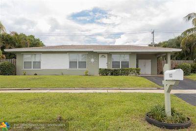 Delray Beach Single Family Home Backup Contract-Call LA: 522 Heron Dr