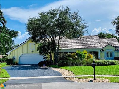 Boca Raton Single Family Home For Sale: 6962 S Grande Dr