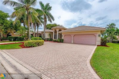 Coral Springs Single Family Home For Sale: 1122 NW 118th Way