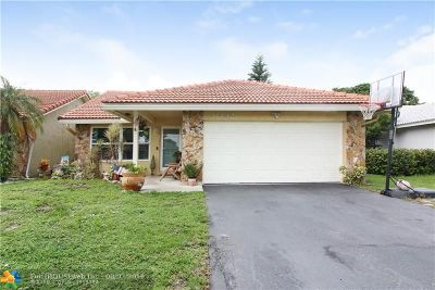 Coral Springs Single Family Home Backup Contract-Call LA: 11432 NW 23rd Street