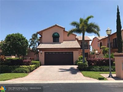 Boca Raton Single Family Home For Sale: 6473 Via Rosa