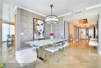 Fort Lauderdale Condo/Townhouse For Sale: 333 Las Olas Way #3802