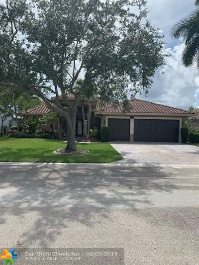 Coral Springs Single Family Home Backup Contract-Call LA: 5450 NW 109th Way