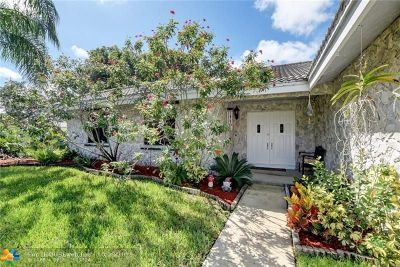 Coral Springs Single Family Home For Sale: 5036 NW 66th Ln
