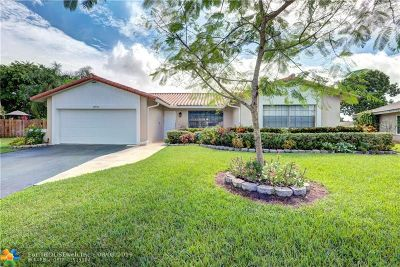 Coral Springs Single Family Home For Sale: 3961 NW 114th Ave