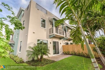 Wilton Manors Condo/Townhouse For Sale: 2119 NE 5th Ave #2119