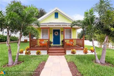 Boca Raton Single Family Home For Sale: 214 SW 2nd Ave
